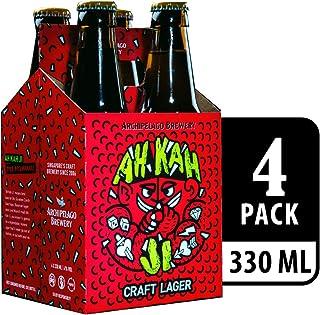 Archipelago Brewery Ah Kah Ji Craft Lager Beer, 4 x 330ml