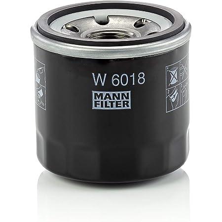 Original Mann Filter W 6018 Schmierölwechselfilter Für Pkw Auto
