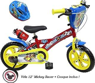 104U Toimsa Draisienne pour Enfant sous Licence Mickey Mouse 10 Pouce de 2 /à 3 Ans