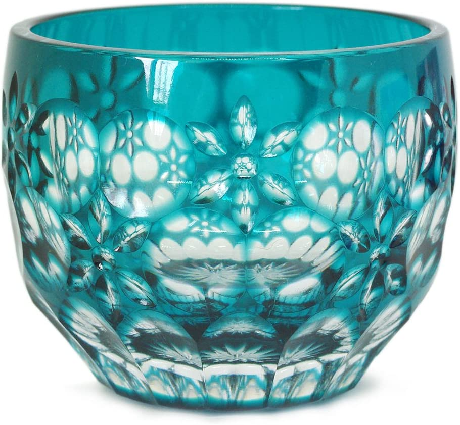 Courier shipping free shipping Ohba Glass Cut Edo Max 51% OFF Kiriko Craft Traditional G in Japanese