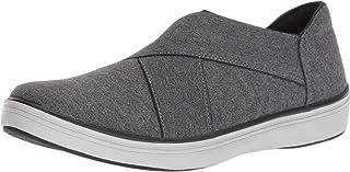 حذاء باليه مسطح من الجيرسي من Grasshoppers للنساء, (رمادي), 8 Wide