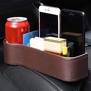 Los asientos del coche del coche de caja Organizador lateral Gap bolsillo de Monedero, Móviles, Mapas efectivo y vidrios-Amplio Mejor dispositivo de almacenamiento del coche
