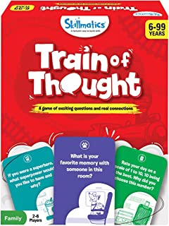 Skillmatics Train of Thought - Card Game for Kids & Families | Super Fun & Interactive for Family Game Night | Gifts for K...