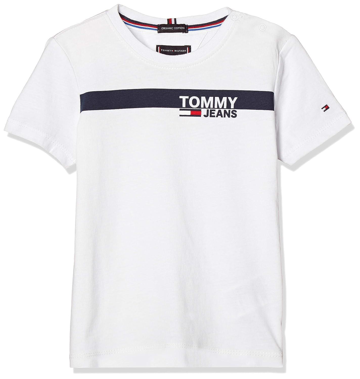 (トミーヒルフィガー) TOMMY HILFIGER キッズ ボックスロゴTシャツ KB0KB05032