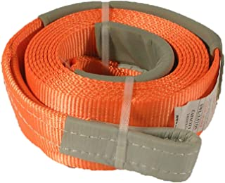 Leisure Time 4x4 Winch Extension Strap 10 cm Wide x 12 M Long 3T Capacity