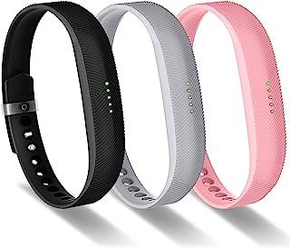 Greeninsync Fitbit Flex 2 Bands, Flex 2 Sport Accessories Bracelet Band Strap Soft Silicone W/Fastener Clasp for Fitbit Fl...