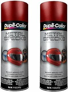 Dupli-Color MS300 Retro Red Metal Specks - 11 oz (2 PACK)