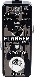 Koogo Guitar Flanger Vintage Pedal Classic Analog Effect Pedals Filter & Normal Best..