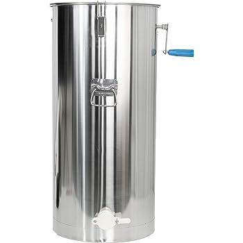 VIVO 2 Frame Stainless Steel Manual Crank Bee Honey Extractor, SS Honeycomb Spinner Drum (BEE-V002C)