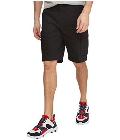 Tommy Hilfiger Cargo Shorts (Deep Knit Black) Men