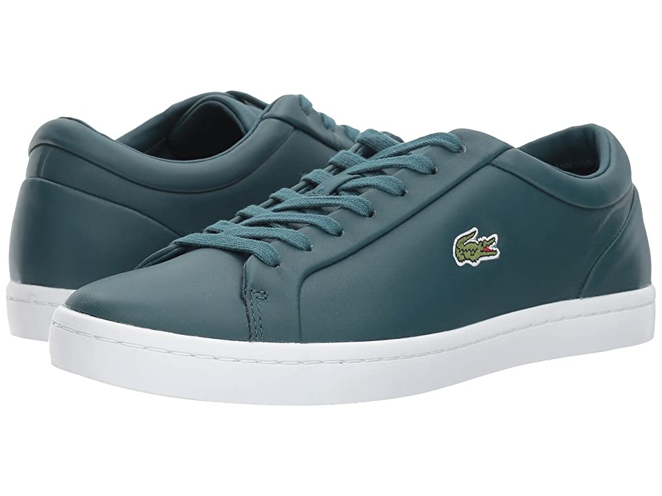 Lacoste Straightset Lace 317 3 (Dark Green) Women