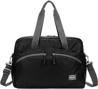 Women's Lightweight Gym Tote Bag Waterproof Sports Handbag, Black