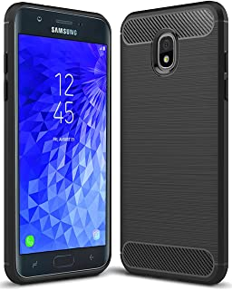 Sucnakp for Samsung Galaxy J7 2018 case, Galaxy J7 V 2nd Gen Case,Galaxy J7 Refine Case,Galaxy J7 Aero,J7 Star,J7 Top,J7 Crown,J7 Aura,J7 Eon,J737V,J737T TPU Protective Case Cover(Black)