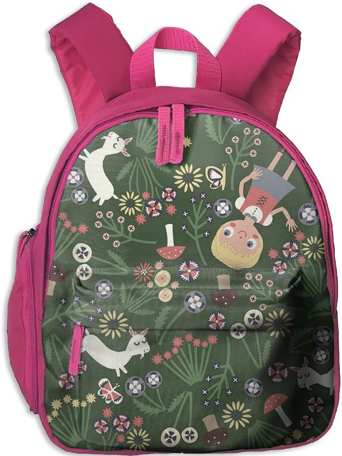 School Bag Story Book(10027) With Durable Travel Camping Backpack For Boys And Girls
