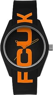 FCUK Analog Black Dial Unisex's Watch-FC150B