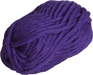 Knit Picks Tuff Puff Super Bulky 100% Wool - 100 Gram Skein (Eggplant)