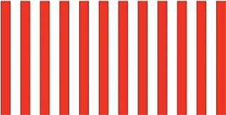 "Fadeless Bulletin Board Art Paper, Classic Stripes - Red & White, 48"" x 50`, 1 Roll"