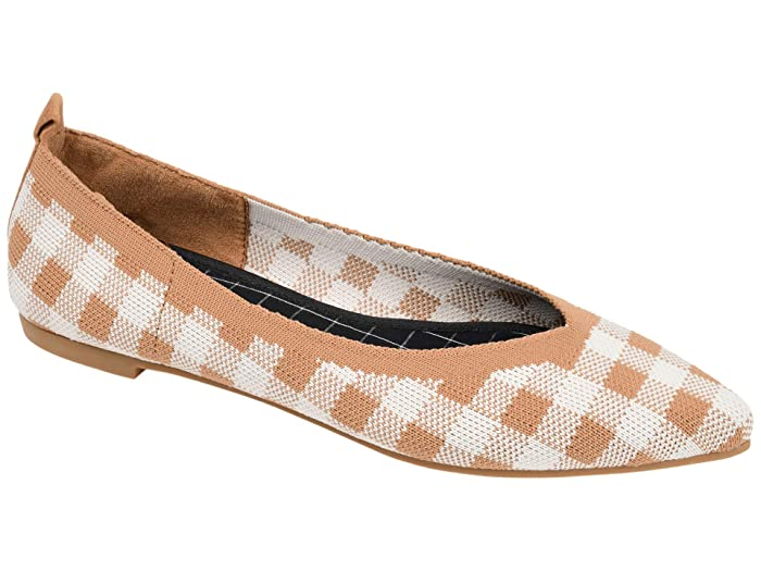 Retro Vintage Flats and Low Heel Shoes Journee Collection Comfort Foam Tayleen Flat Tan Womens Shoes $39.99 AT vintagedancer.com