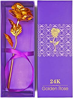 Other 24K Gold Rose Flower Gift, Big Rose with Gift Box