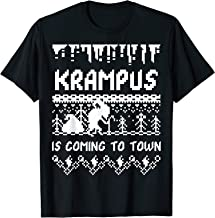 KRAMPUS IS COMING TO TOWN CHRISTMAS SHIRT