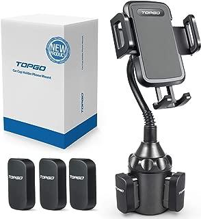 [Upgraded] Car Cup Holder Phone Mount Adjustable Gooseneck Automobile..