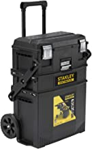 Stanley FatMax mobil iş istasyonu (54,9 x 73,3 x 41,3 cm, ağır yük tekerlekleri, otomatik emniyet kilidi, ayarlanabilir te...