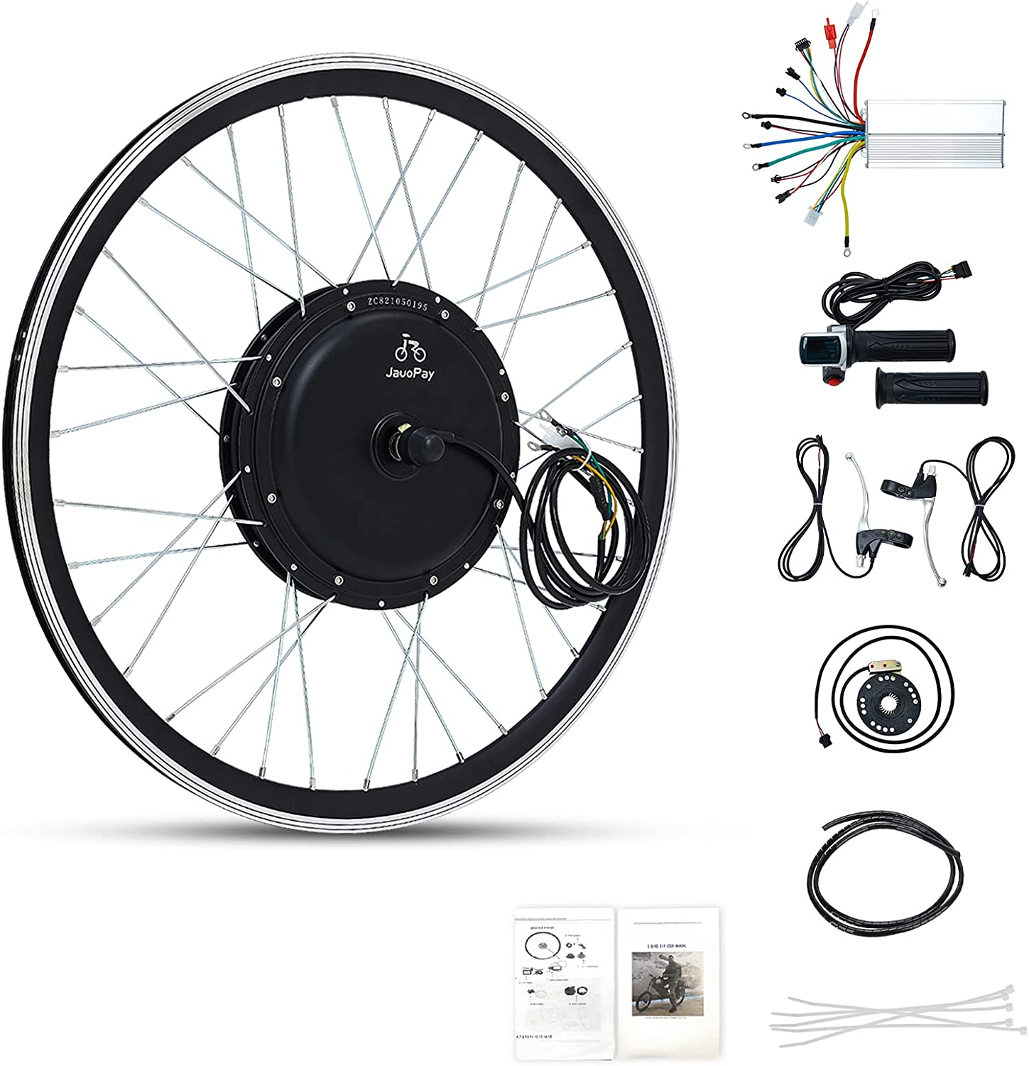 JauoPay 48V 1000W Electric Bicycle Conversion Kit