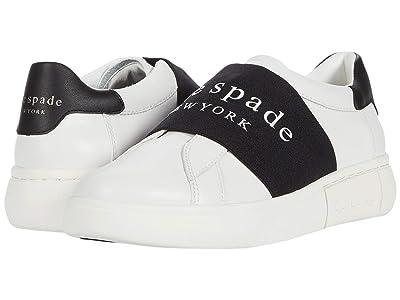 Kate Spade New York Lift Logo (Optic White/Black) Women