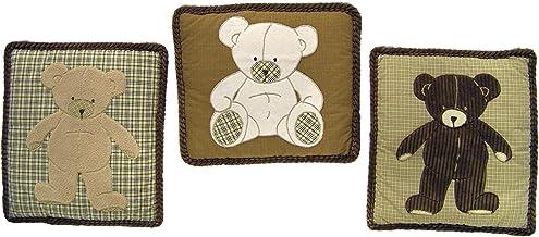 Eddie Bauer Wall Hanging Teddy Bear
