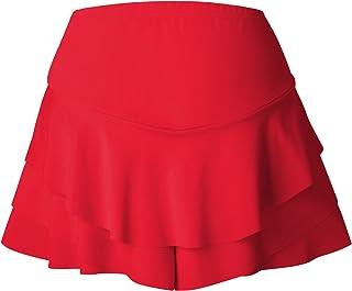 7TECH Fashion Frills Skirt Shorts, Red