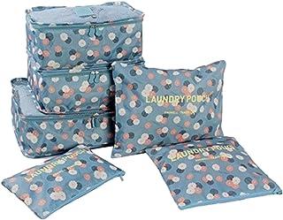 منظم امتعة 6 حقائب مختلفة المقاس رقم الصنف 1530 - 1