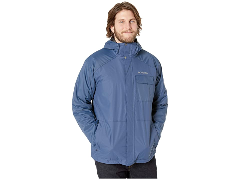 Columbia Big Tall Ten Fallstm Interchange Jacket (Dark Mountain) Men