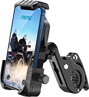 Aerb Soporte Móvil Bicicleta, Soporte Móvil Moto: Soporte para Teléfono en Bicicleta para iPhone 12 Mini, 12 Pro MAX, 11 P...