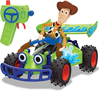 Dickie - rc toy story 4 buggy with woody, 1:24