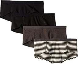 Everyday Boyshorts 4-Pack