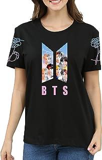 Dolpind Kpop BTS Shirt Love Yourself Suga Jungkook Jimin V Rap Monster Jin Jhope Tshirt BTS Merchandise