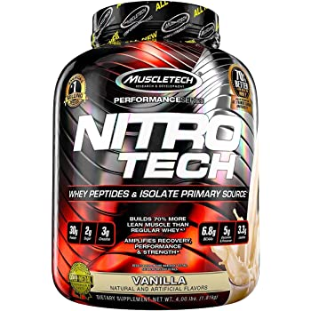 Nitrotech Performance Series 4 lbs Vanilla