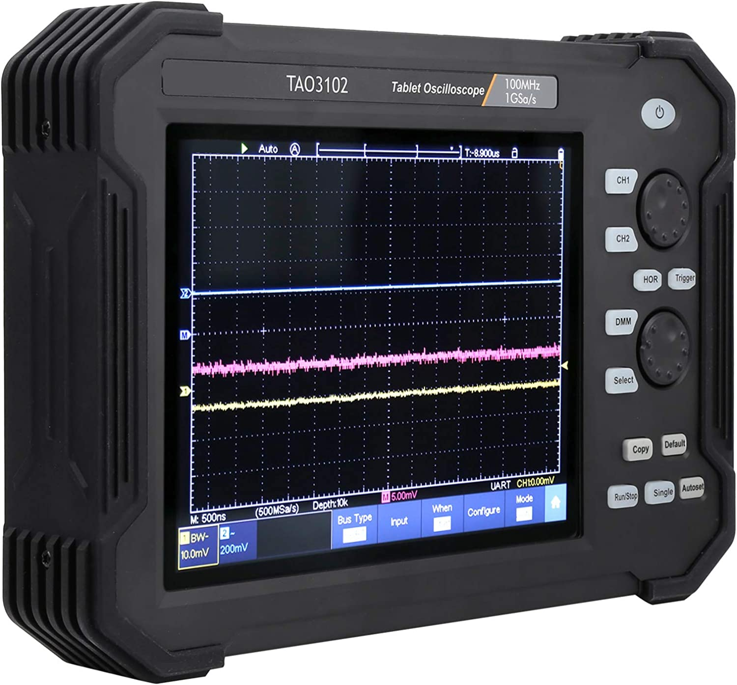 TAO3102 8in Oscilloscope Max wholesale 43% OFF 2CH 100MHZ Digital Touch Tablet Screen