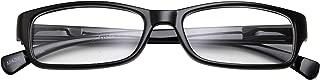 Kids Smart Looks Eye Glasses Rectangle Nerd Children's Clear Lens (Age 6-12) Black