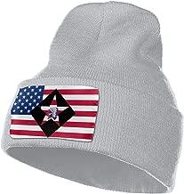 6th Marine Regiment Men&Women Warm Winter Knit Plain Beanie Hat Skull Cap Acrylic Knit Cuff Hat