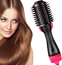 Hair Dryer Brush and Hot Air Brush, Bvser Air Hair Brush 3 in 1 Electric Hair Dryer Volumizer with Negative Ion Curling Dr...