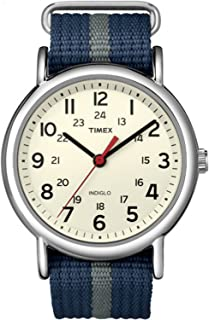 Timex Men's T2N654 Year-Round Analog Quartz Blue Watch