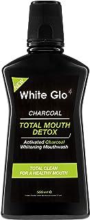 White Glo - Charcoal Total Mouth Detox Mouthwash 500ml