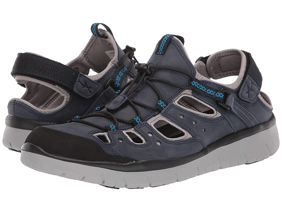 Image of Allrounder by Mephisto Maroon (Blue Nubuck X) Men's Lace up casual Shoes