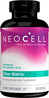 NeoCell Glow Matrix, Collagen Capsules, Skin Hydration and Elasticity, 90 Capsules (Package May Vary)