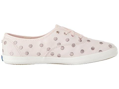 kate spade x Cream SilverPale Dancing Pink new Keds Champion york Dot pw1ngxHx
