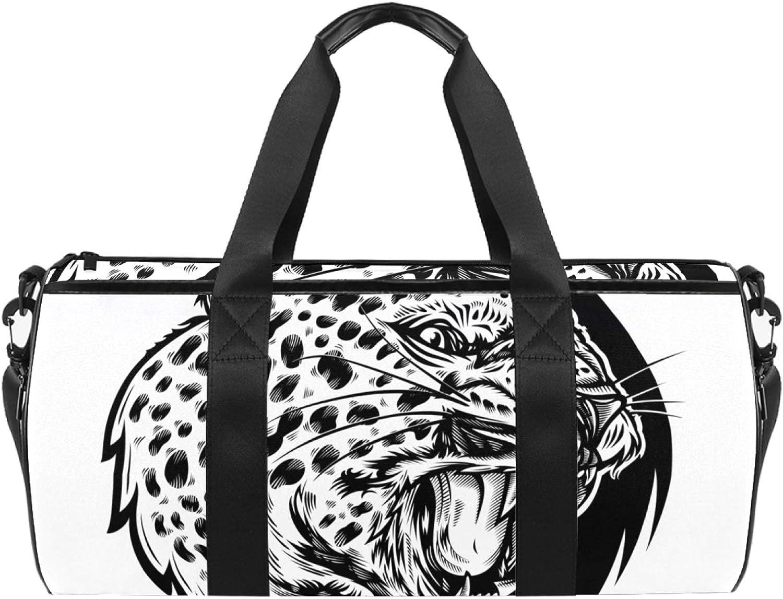 Sport Duffel Bag Black and Gym leopard Travel Sales Financial sales sale for sale Kids white