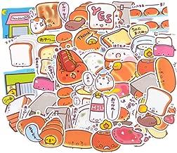 41 Pieces Waterproof Toast Bread Stickers for Kids Craft, Laptop, Water Bottles, Fridge, Daily Planner,