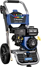 Westinghouse WPX3200 Gas Powered Pressure Washer 3200 PSI and 2.5 GPM, Soap Tank and Five..
