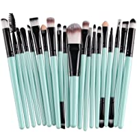 KOLIGHT 20 Pcs Pro Makeup Set Powder Foundation Cosmetic Brushes